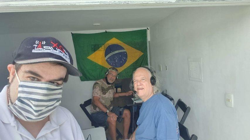 PT2GMA Beacon Ilha dos Clubes Ponte, Brazila Image 1