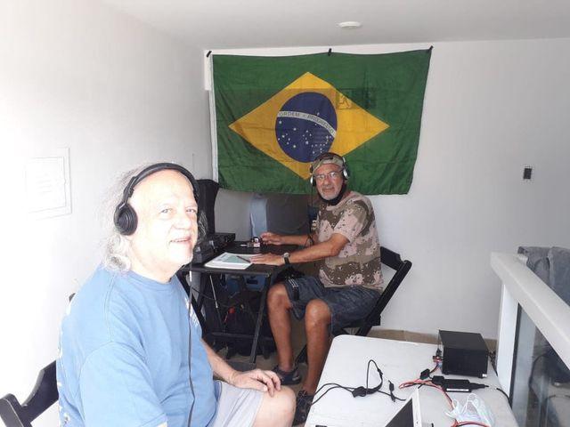 PT2GMA Beacon Ilha dos Clubes Ponte, Brazila Image 4