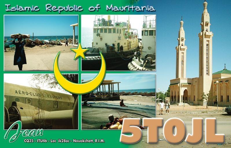 5T0JL Mauritania Jean J. Lewuillon