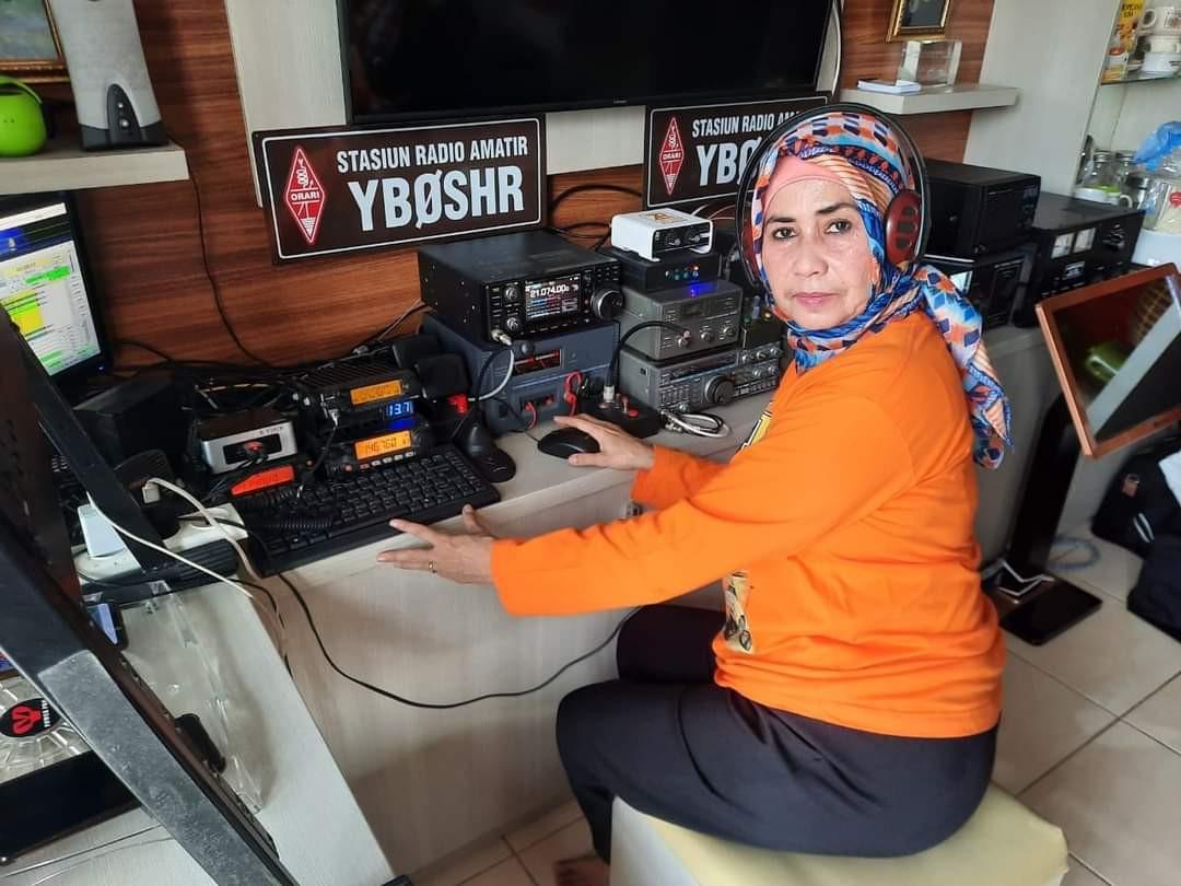 YB0SHR Jakarta, Indonesia