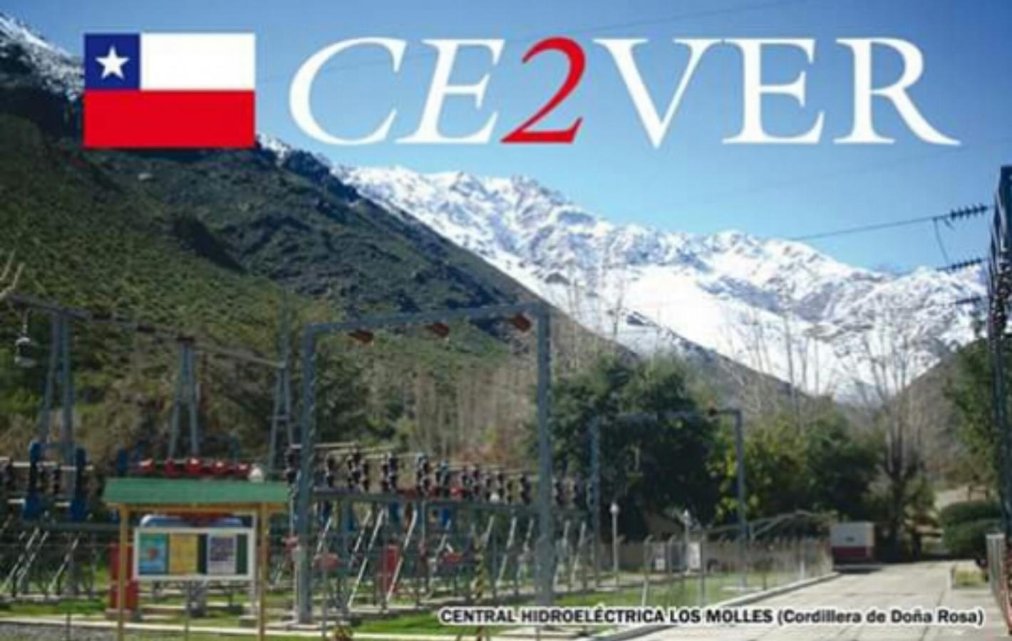 CE2VER Chile QSL