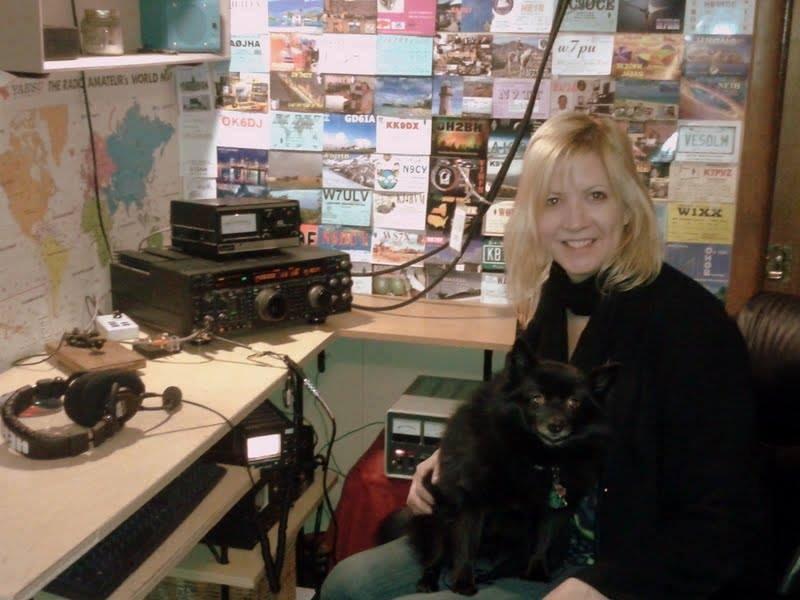 YL Ham Radio Operator - NV9L - Valerie J Hotzfeld