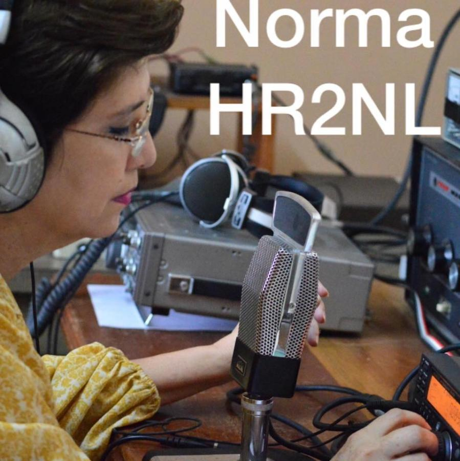 YL Ham Radio Operator HR2NL Honduras Norma Leiva