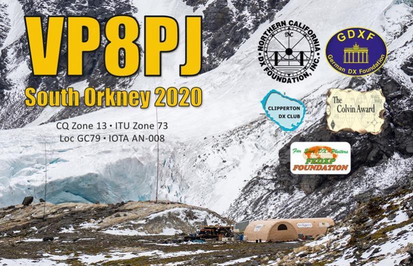 VP8PJ South Orkney Islands DX Pedition 2021