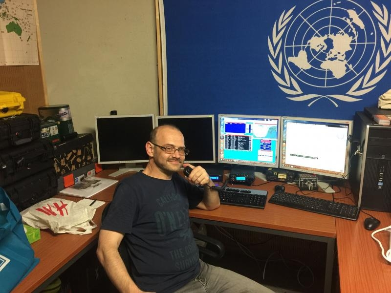 4U1A United Nations Amateur Radio Contest DX Club Vlad RD3BD