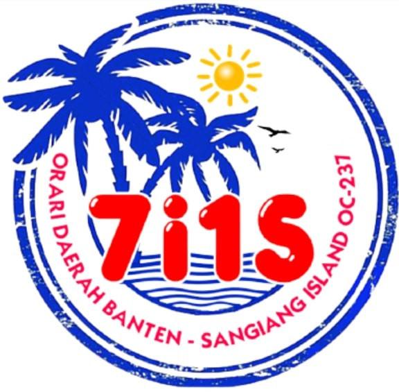 7I1S Sangiang Island IOTA Expedition Logo