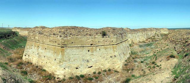 RA/W3RDX/P Arabat Castle, Crimea Image 1