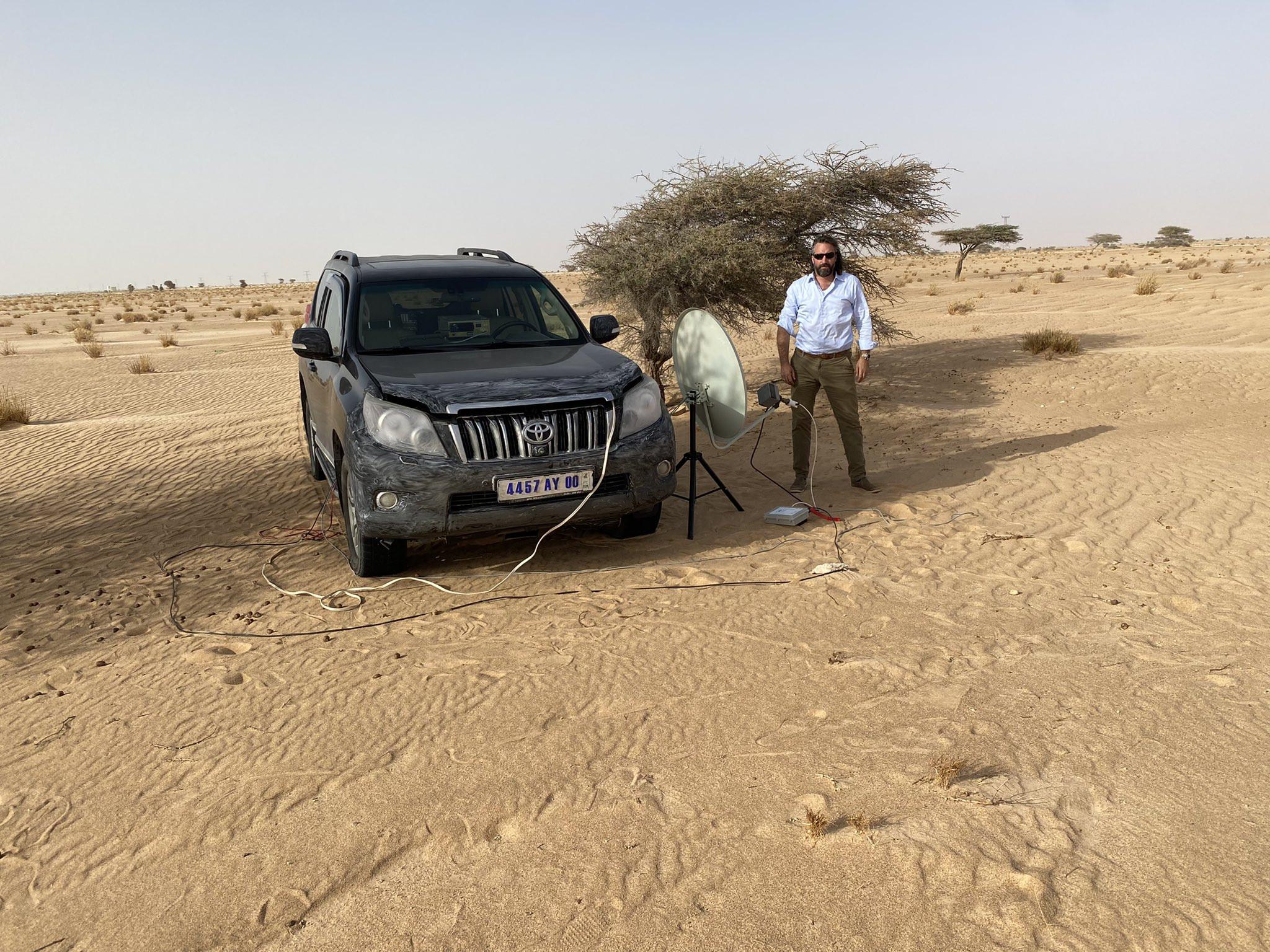 5T5PA Sahara desert, Mauritania DX News
