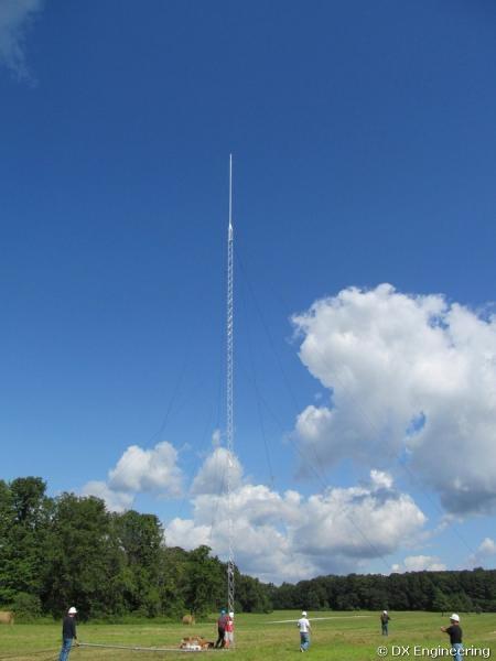 3Y0Z - 160m antennas