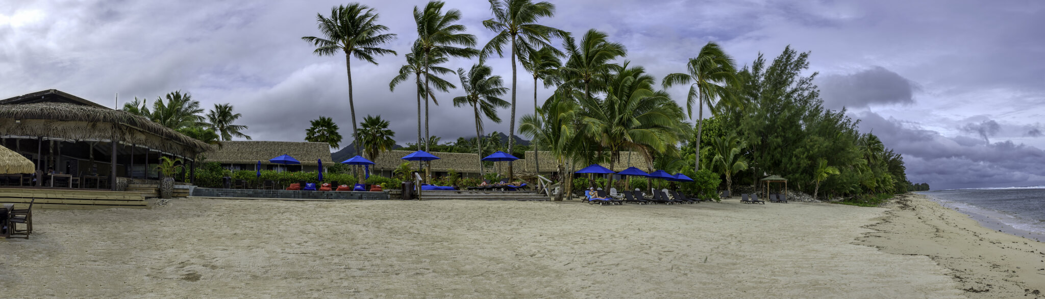 E51RMP Manuia beach resort, Rarotonga Island, Cook Islands