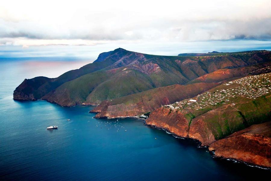 ZD7DL Saint Helena Island
