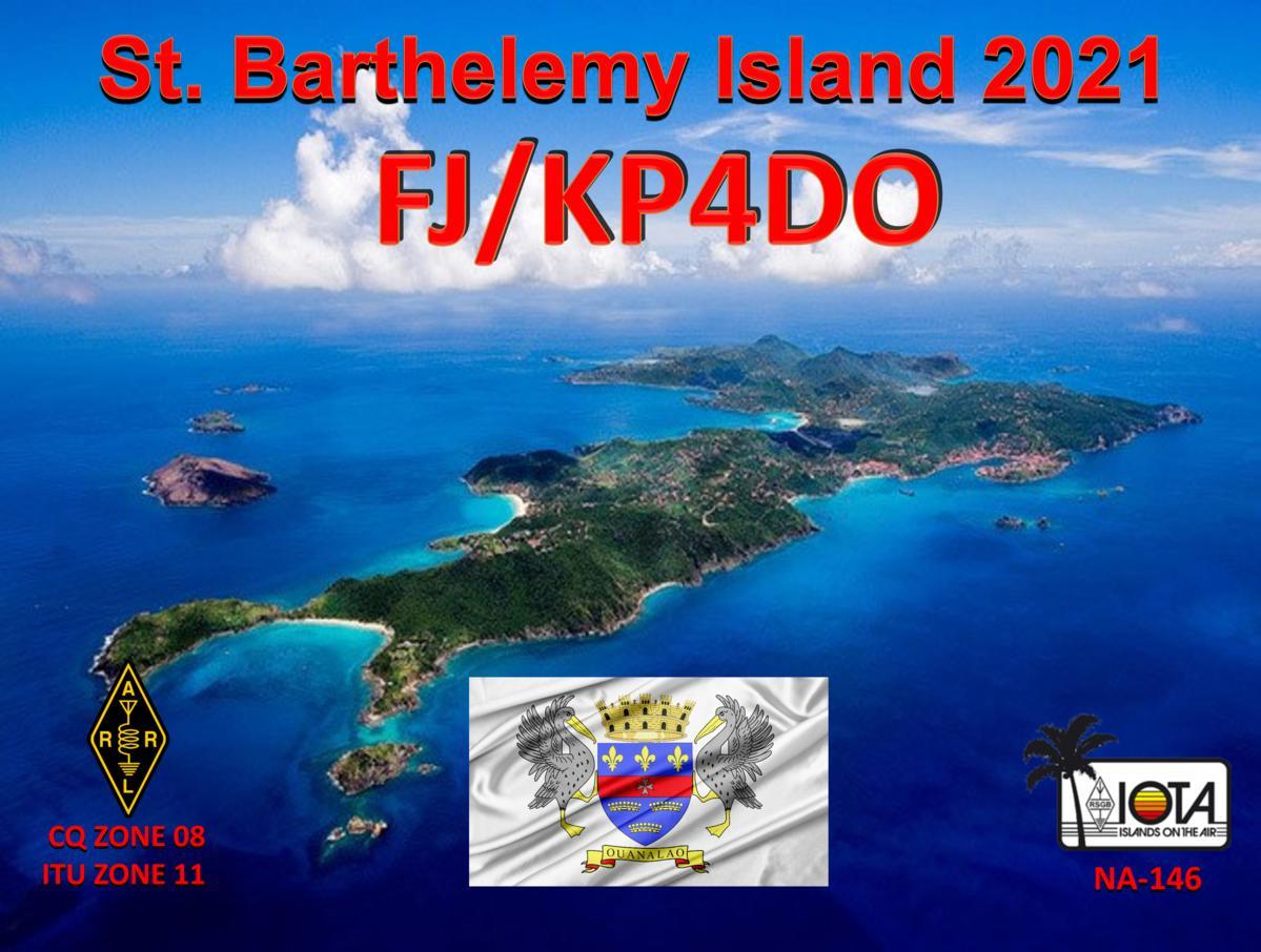 FJ/KP4DO Saint Barthelemy Island