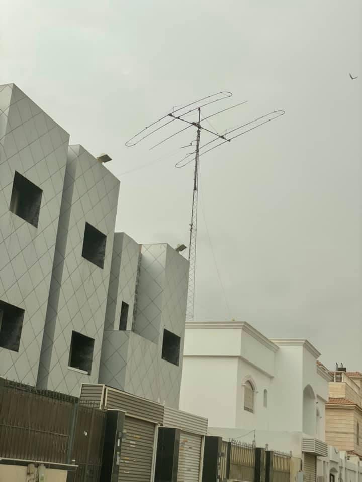HZ1HZ Jeddah, Saudi Arabia SteppIR antenna