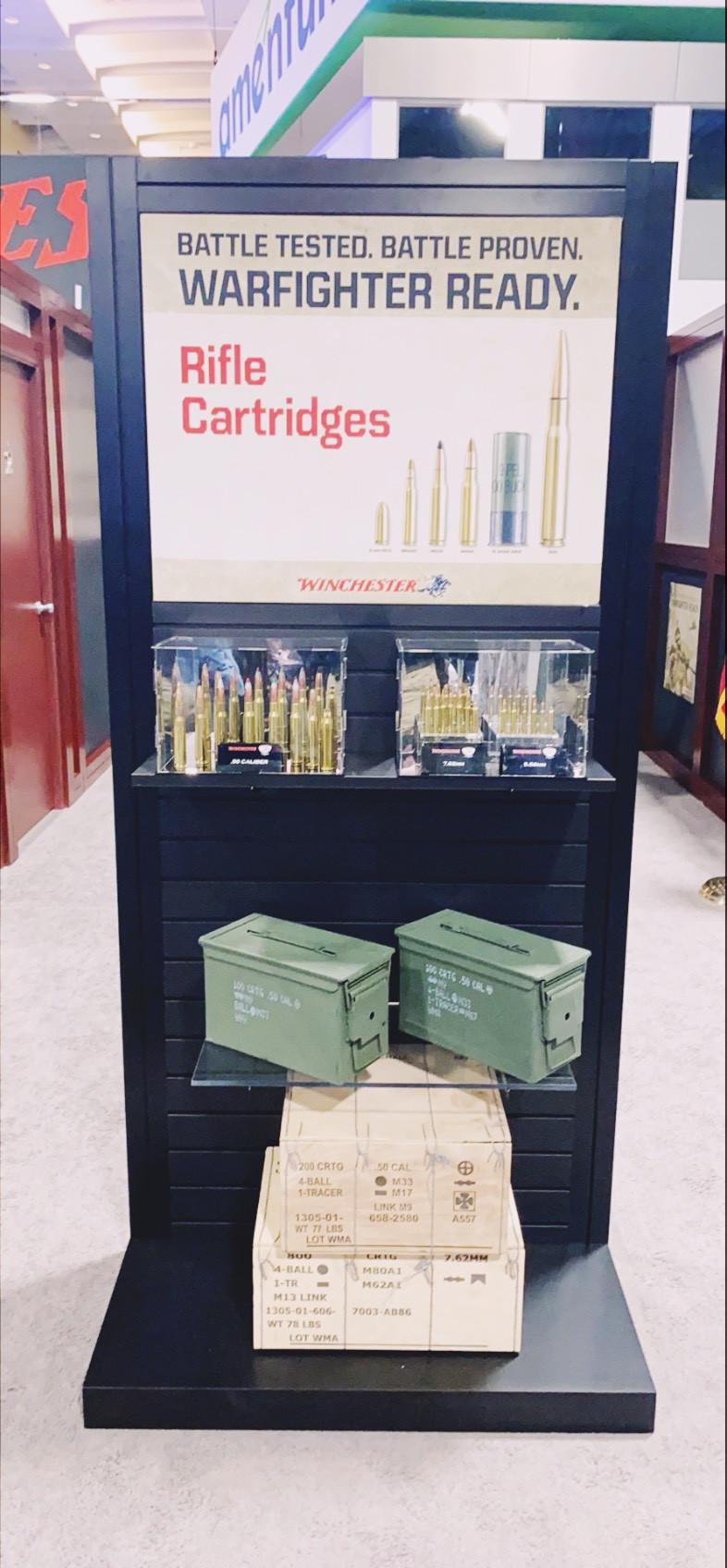 AUSA 2021 12 October 2021 Riffle cartridges