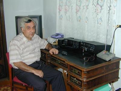 UK8OM Mikhail Mejlumov, Namangan, Uzbekistan