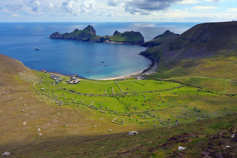 GM4TLH/P Hirta Island