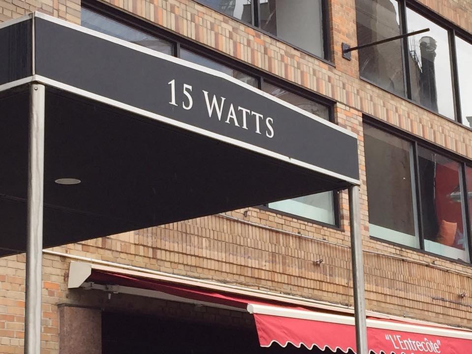 15 watts