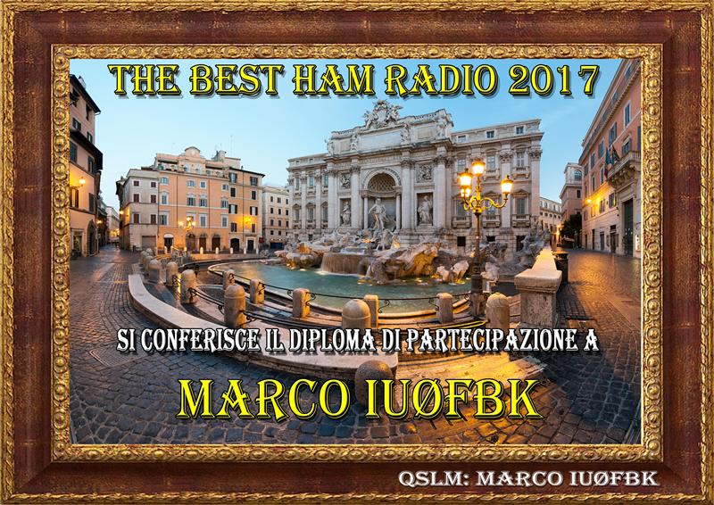 The Best Ham Radio 2017 Award