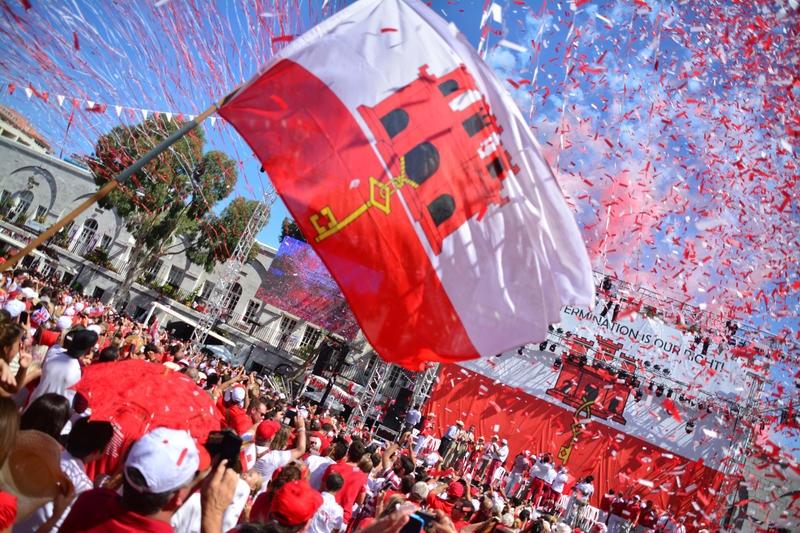 ZG2TT Gibraltar National Day
