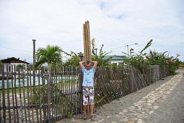 HD2RRC Puna Island materials for antenna