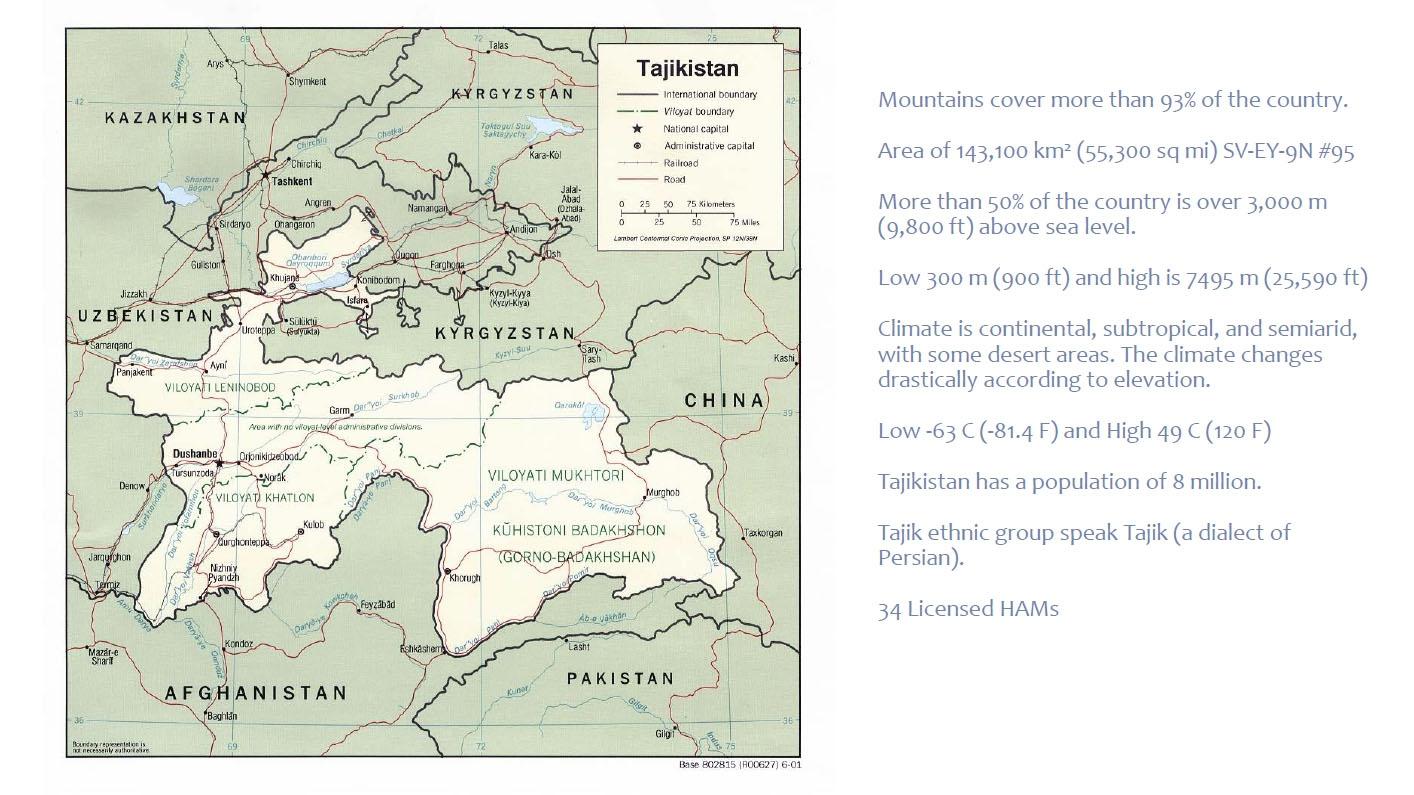 3Y0Z Bouvet Island Presentation Tajikistan