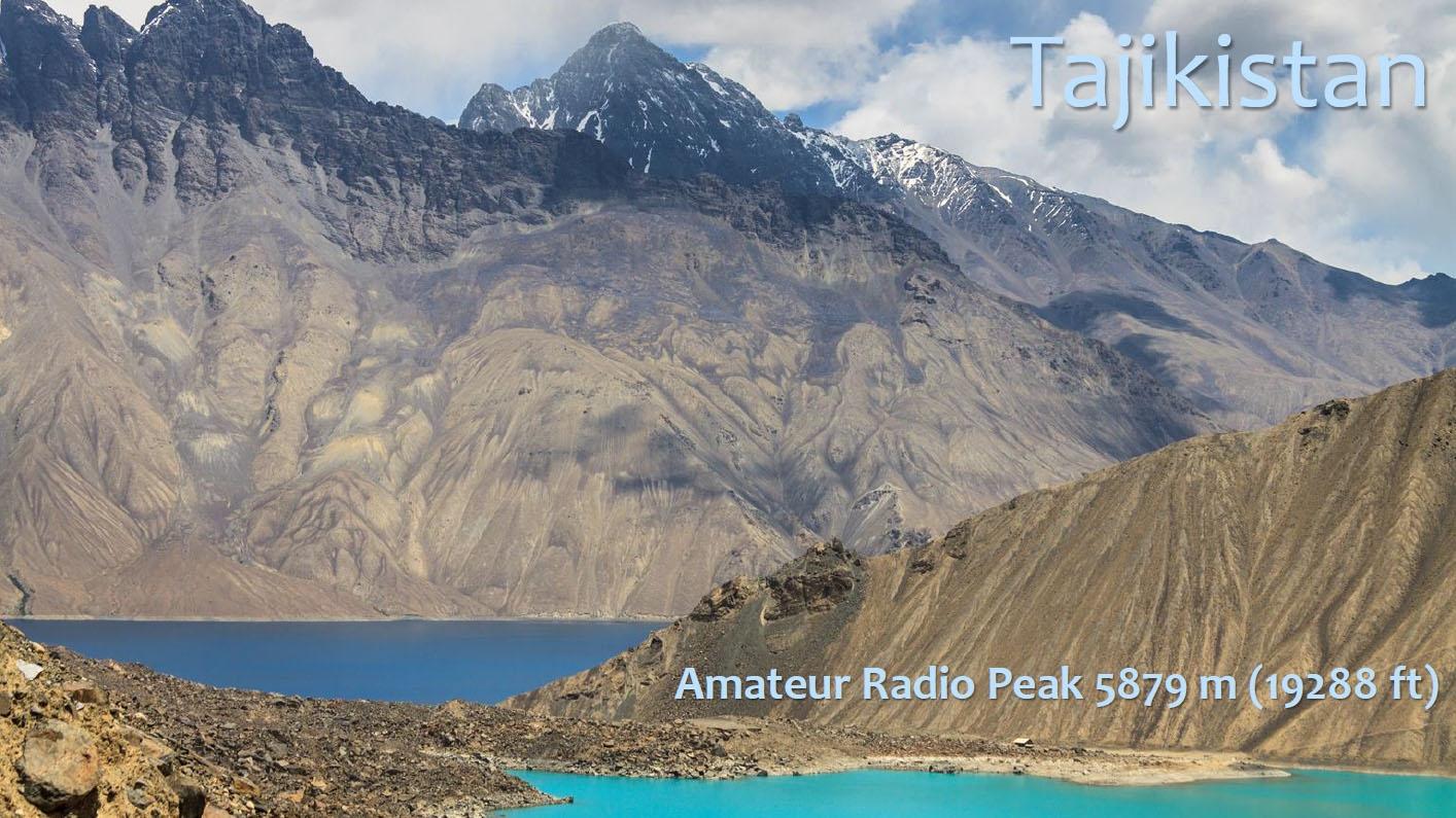 Tajikistan Amateur Radio Peak