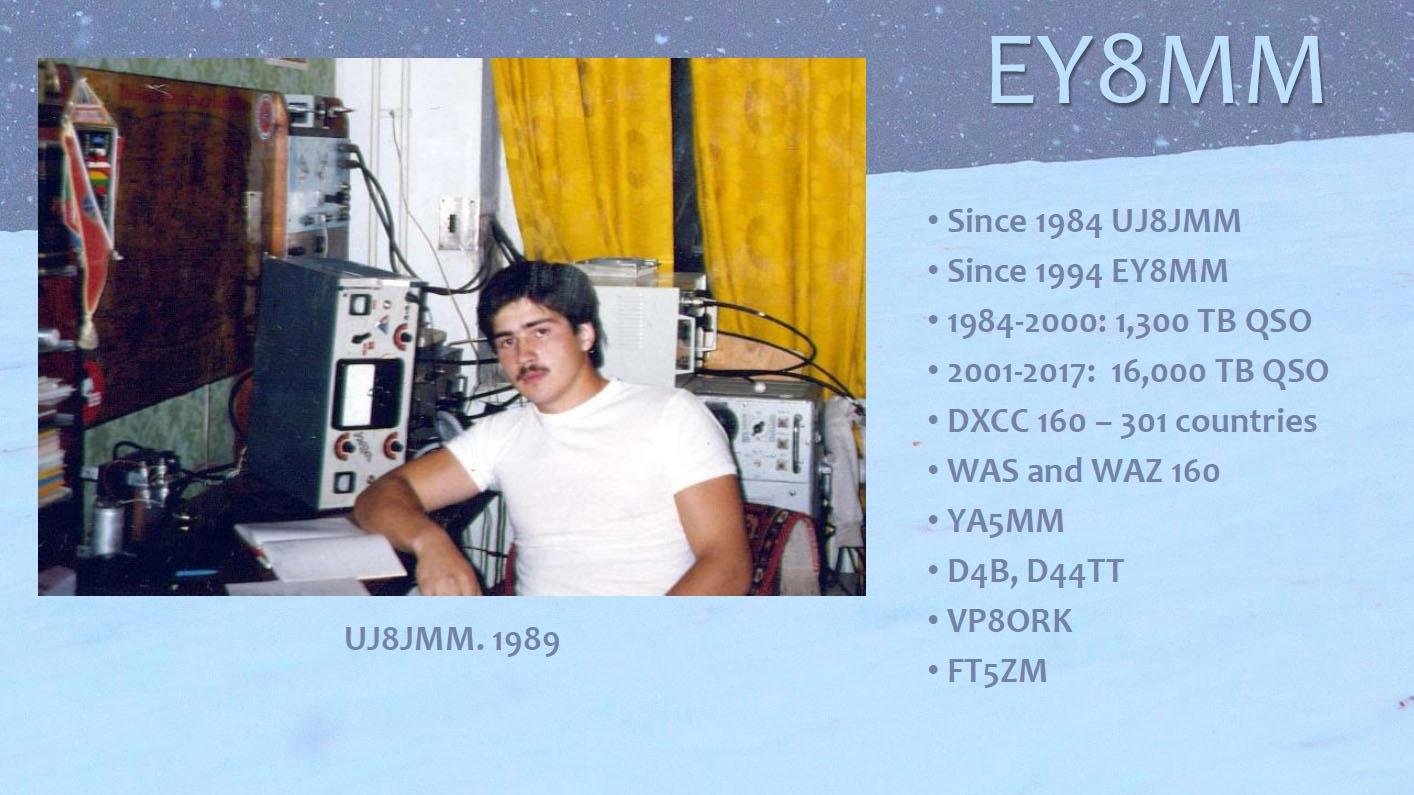 Tajikistan UJ8JMM 1989