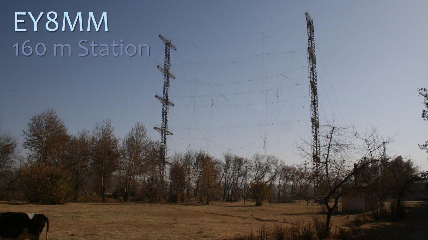 Tajikistan EY8MM 160m antenna