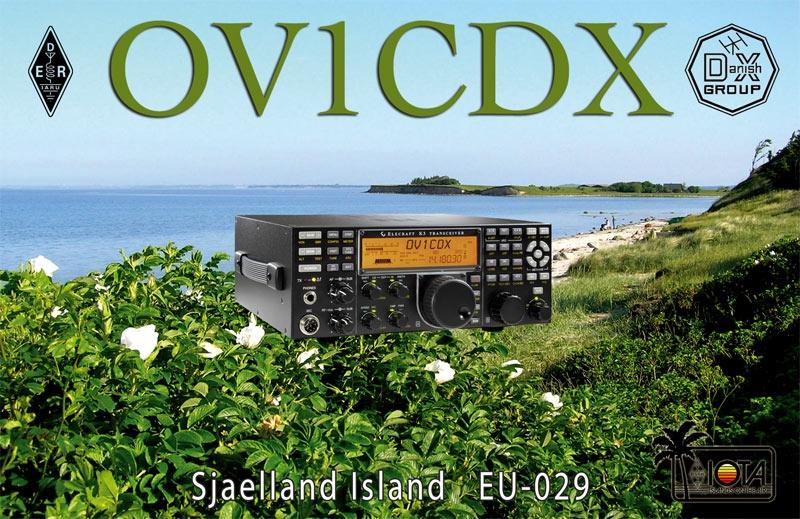 OV1CDX Sjaelland Island Denmark