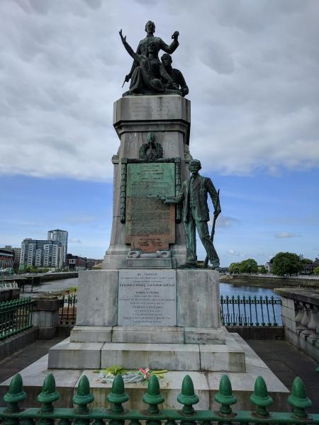 EI/G4OEC 1916 Memorial, Limerick, Ireland.