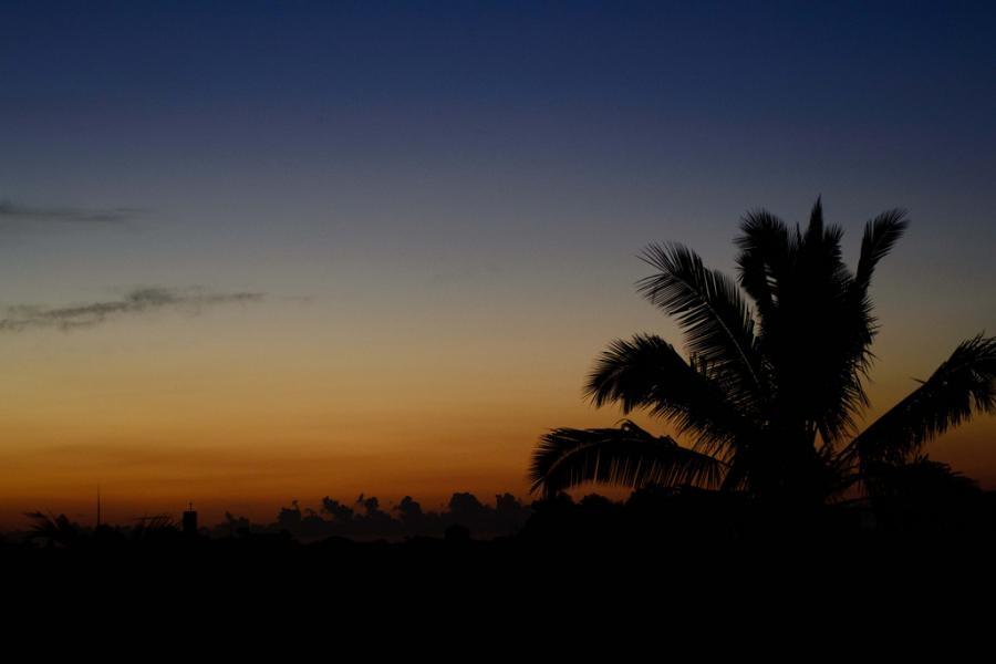 3B8CF Quatre Bornes Mauritius Island Sunset
