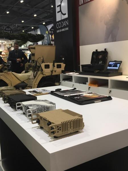Codan display DSEI 2017