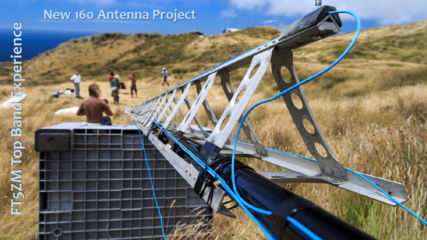 FT5ZM Amsterdam Island New Top Band Antenna project image