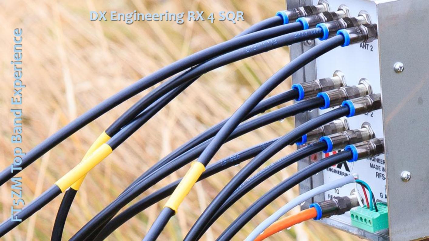 FT5ZM DX Engineering RX 4SQ Antenna Amsterdam Island