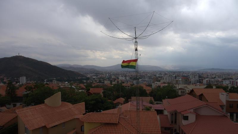 CP5HK Cochabamba, Bolivia Antenna