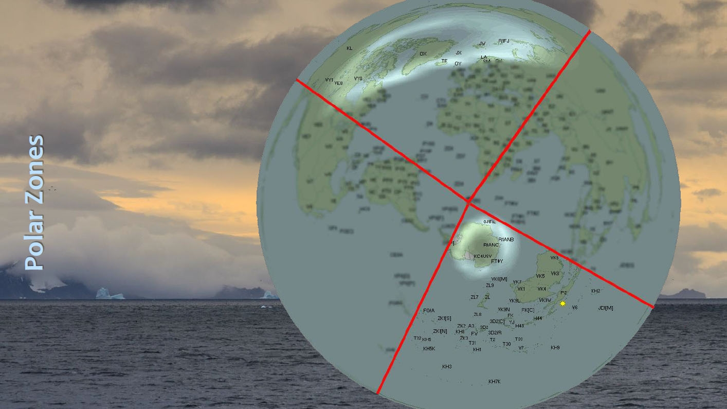 3Y0Z Bouvet Island Polar zones