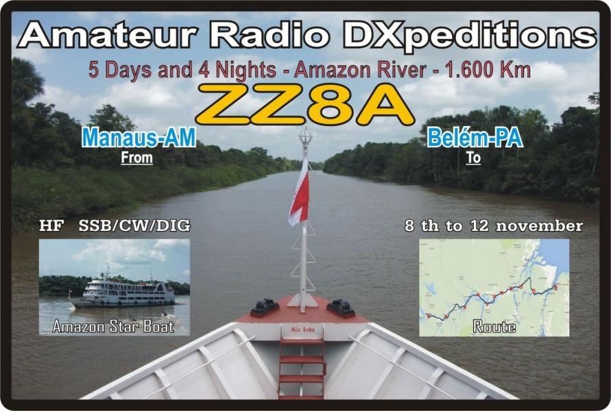 ZZ8A Amazon River DX News