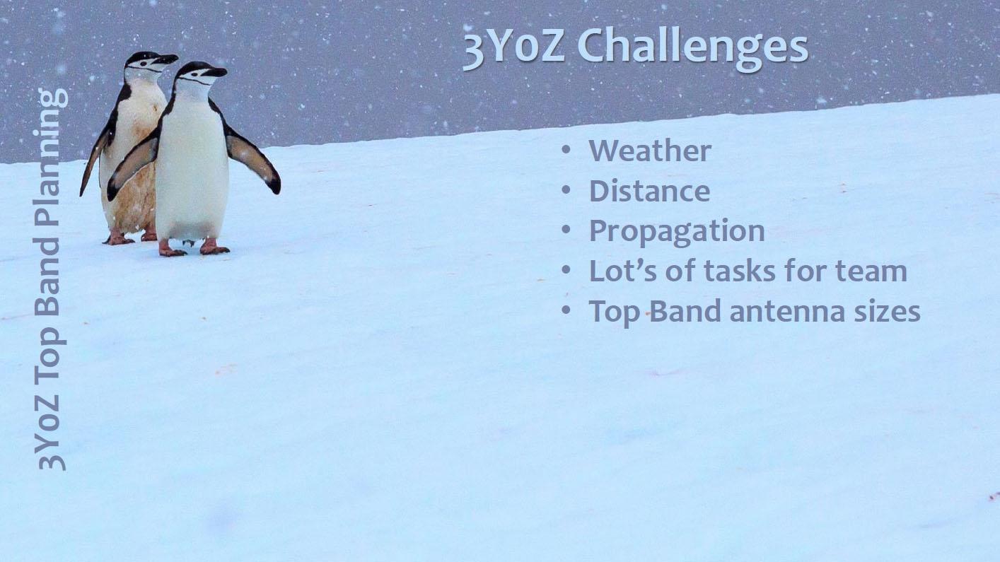 3Y0Z Bouvet Island DX Pedition Challenges