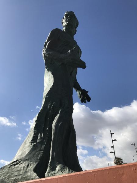 EA8/UA4WW Monumento a Alfredo Kraus, Las Palmas de Gran Canaria, Canary Islands