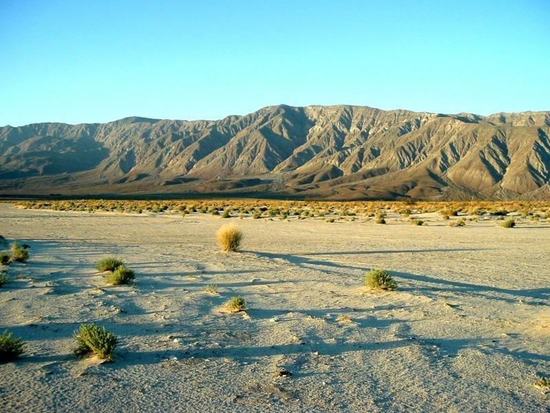 KG6LI Anza Borrego Desert at the Ocotillo Wells State Vehicular Park