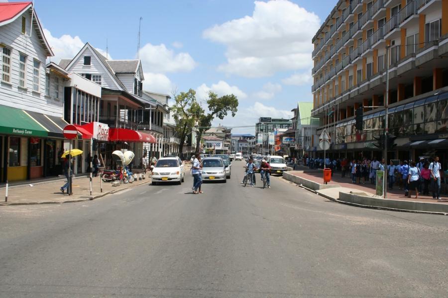 PZ5JW Paramaribo Suriname