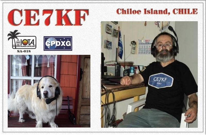 CE7KF Mauricio Jara Quellon Chiloe Island Chile