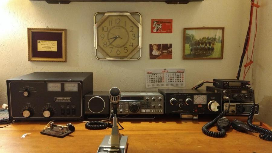 XQ6CFX Ruben Wladimir Rosas Aguila Osorno Chile Radio Room Shack