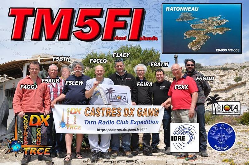 Ratonneau Island TM5FI QSL
