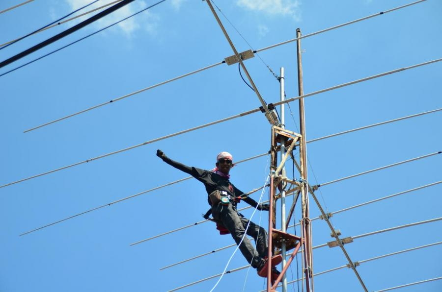 9M2YDX Muhammad Yasir Abdullah Pendang, Malaysia Antenna