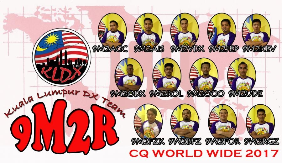 9M2R Malaysia CQ WW DX SSB Contest 2017