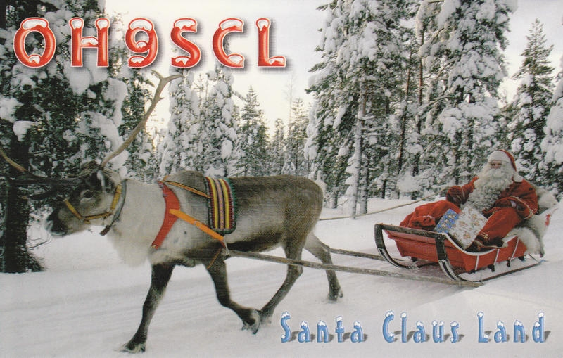 OH9SCL Santa Claus Amateur Radio Station