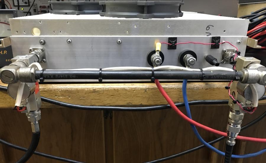 ZS4TX 6m Amplifier Larcan Picture 11