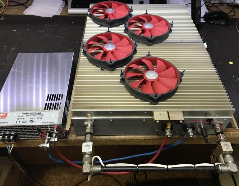 ZS4TX 6m Amplifier Larcan Picture 12