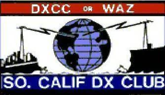 South California DX Club SCDXC Elections for 2018 Logo